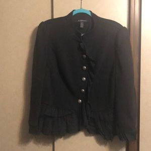 EUC INC Ruffled Jacket SZ 2X